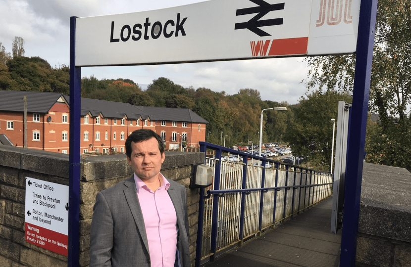 Lostock Train Station