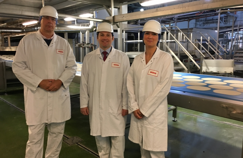 Chris Green MP visits Stateside Foods